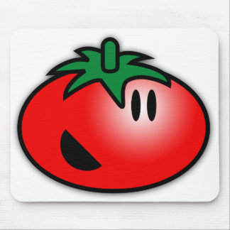Smiley Tomato Head Mouse Mat