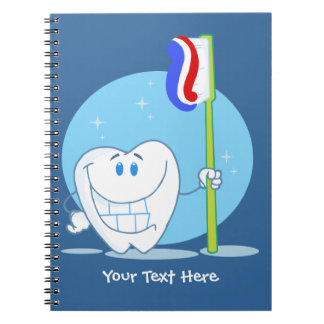 Smiley Tooth (customizable) Notebooks
