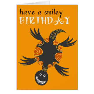 Smiley tortoise Birthday Card