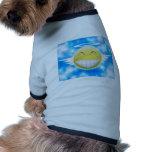 Smiley trip to heaven dog t-shirt