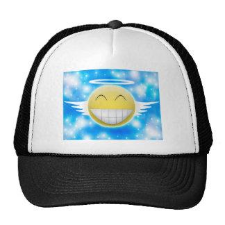 Smiley trip to heaven trucker hat