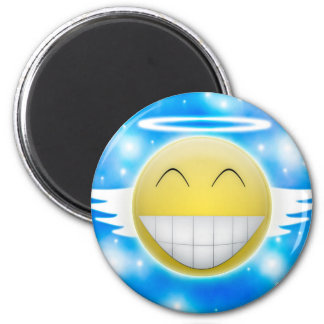 Smiley trip to heaven magnet