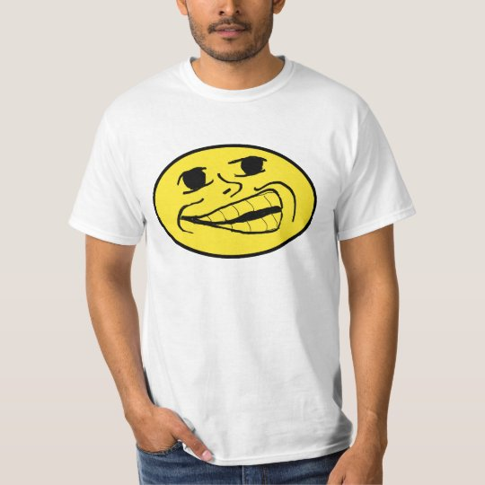 Smiley Troll face T-Shirt