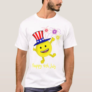 Smiley Uncle Sam T-Shirt