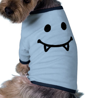 Smiley Vampire Pet Tee Shirt