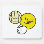 Smiley Volleyball Mouse Mat