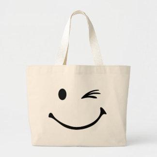 Smiley wink bag