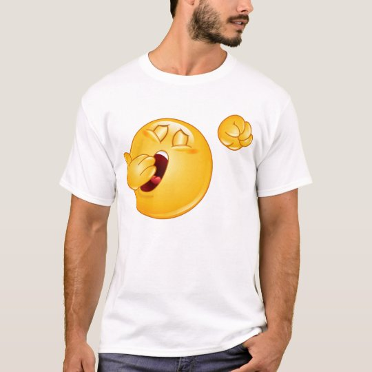 Smiley yawning shirt