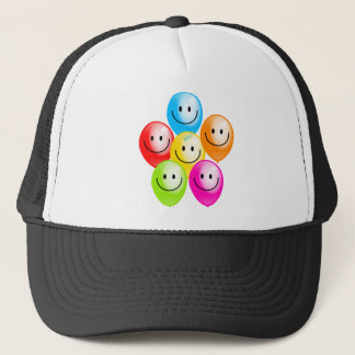 Smilie Balloons Trucker Hat