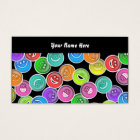Smilie Wallpaper, Your Name Here Business Card