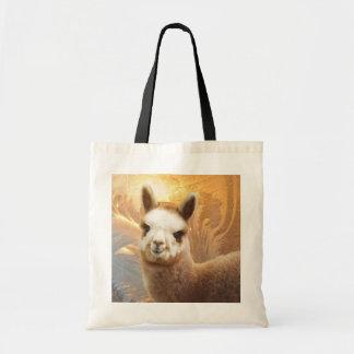 Smiling Alpaca Tote Bags