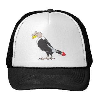 Smiling Andean Condor Bird Cap