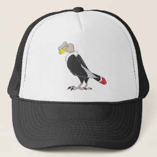 Smiling Andean Condor Bird Trucker Hat