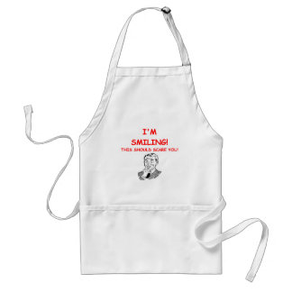 smiling aprons