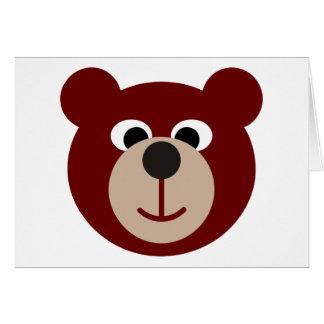 Smiling Bear Greeting Card