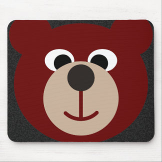 Smiling Bear Mouse Pads