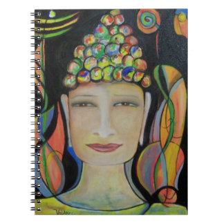 Smiling Buddha Notebook by ValAries