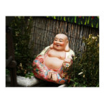 Smiling Buddha Post Card
