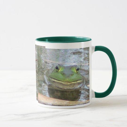 Smiling Bullfrog Mug