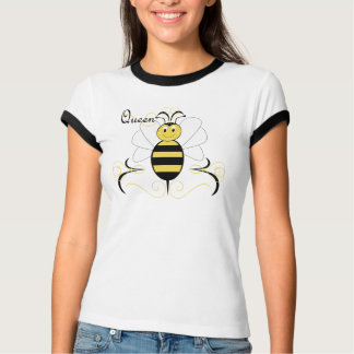 Smiling Bumble Bee Queen Bee Shirt