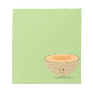 Smiling Cantaloupe Notepad