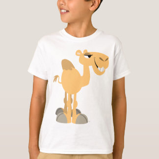 Smiling Cartoon Camel Children T-Shirt