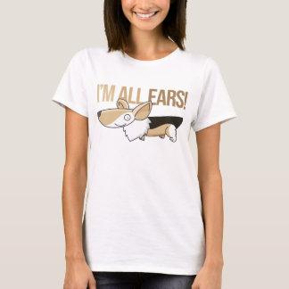 Smiling Cartoon Corgi T-Shirt