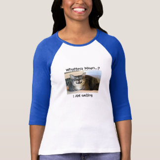 Smiling Cat - Ladies Tee