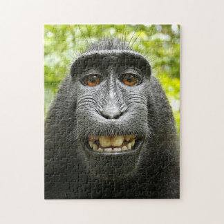 Smiling Celebes Macaque Jigsaw Puzzle