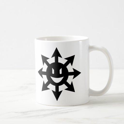 smiling chaos star mug