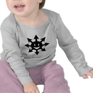 smiling chaos star tees