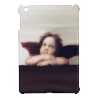 Smiling Cherub Boy Sistine Madonna Remake iPad Mini Cover