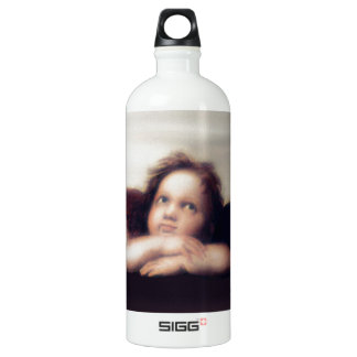 Smiling Cherub Boy Sistine Madonna Remake SIGG Traveller 1.0L Water Bottle