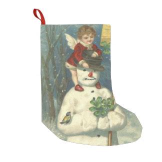 Smiling Cherub Snowman Shamrock Songbird