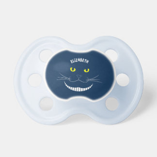 Smiling Cheshire Transparent Cat With Yellow Eyes Dummy