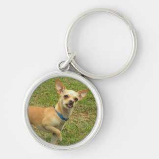 Smiling Chihuahua Keychain