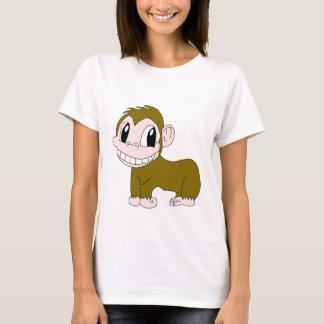 Smiling Chimpanzee Woman T-Shirt