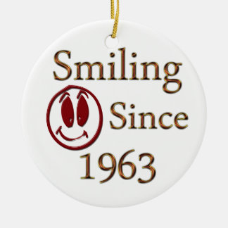 Smiling Christmas Ornament