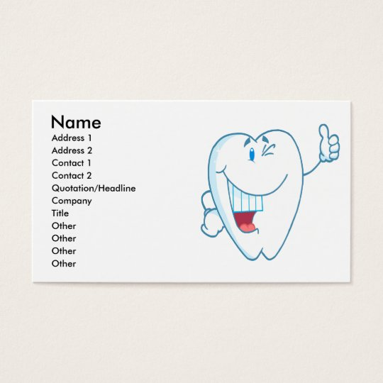 Smiling Clean Tooth Cartoon Character Thumbs Up.ai Business