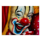 Smiling Clown Poster