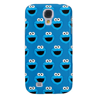 Smiling Cookie Monster Pattern Galaxy S4 Case
