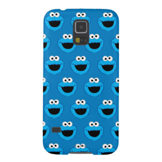 Smiling Cookie Monster Pattern Galaxy S5 Cover
