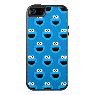 Smiling Cookie Monster Pattern OtterBox iPhone 5/5s/SE Case