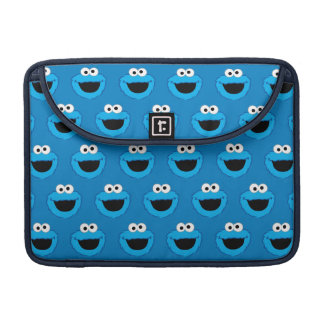 Smiling Cookie Monster Pattern Sleeve For MacBooks