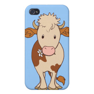 Smiling cow iPhone 4/4S case