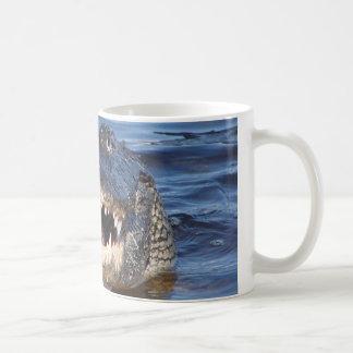Smiling Crocodile Coffee Mugs