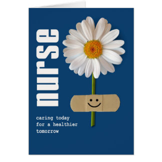 Smiling Daisy. Nurses Day Greeting Cards