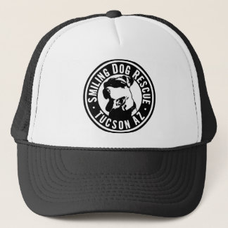 Smiling Dog Rescue Trucker Hat