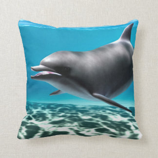 Smiling Dolphin Cushion