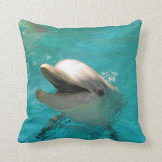 Smiling Dolphin Cushion